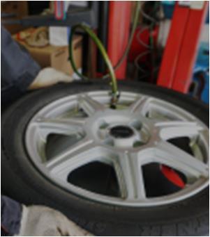 タイヤ預かり保管